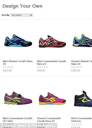 Design Your Own Shoes At Stevenmaddencom by Shoppers Order Free Reebok Trainers After Website Glitch