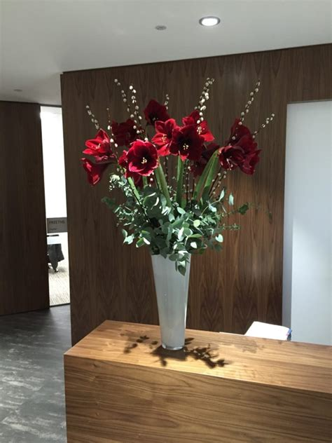corporate flowers delivered