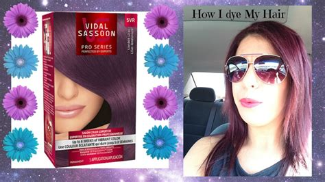 deep velvet violet hair dye african america dying my hair dark purple youtube