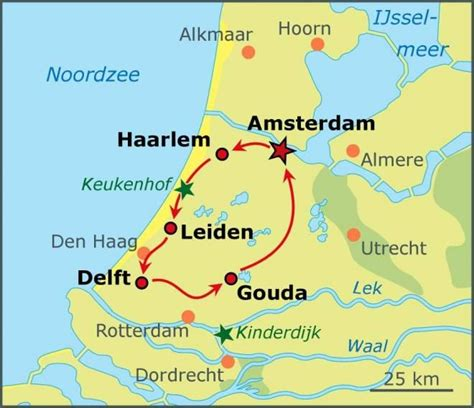 netherlands bicycle map best of bike tour hollandcycletours