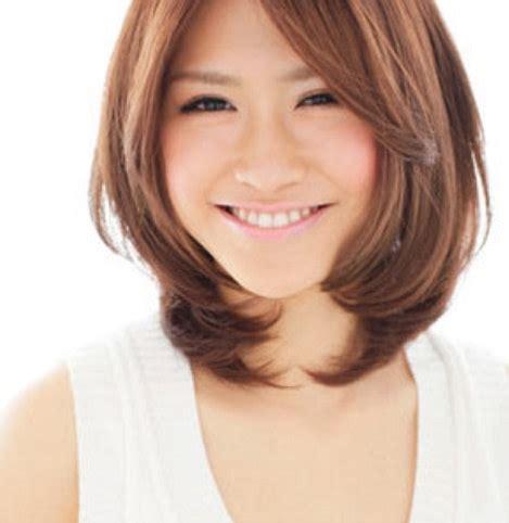 Frem Korea Bulat Oval Terbaru model potongan rambut untuk wajah oval yang istimewa potongan rambut pendek wajah lonjong