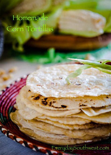 Handmade Tortillas Recipe - recipe for how to make corn tortillas at home everyday
