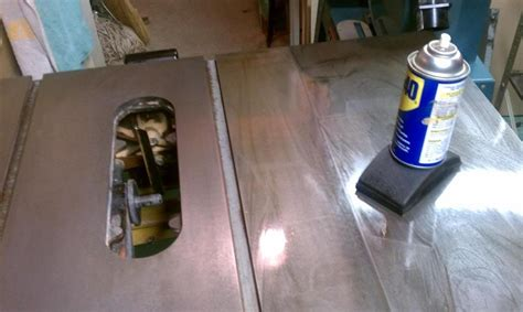 remove rust from table saw remove rust from table saw top gt http