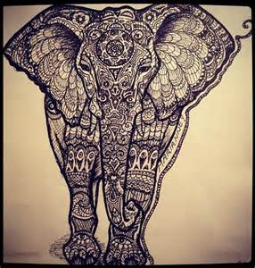 doodle elephant artsy posts my magical world of and artsy stuff