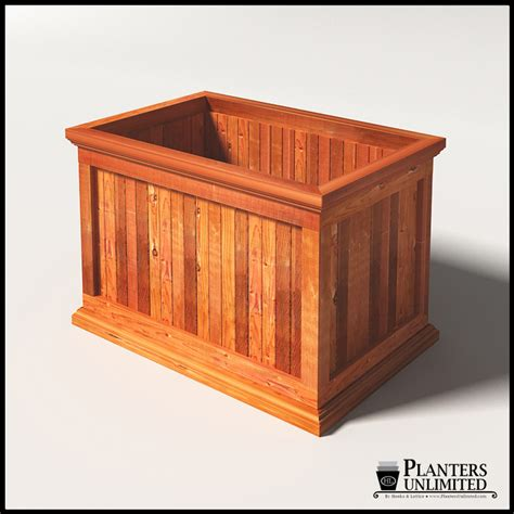 Outdoor Rectangular Planters Large by Large Rectangular Planters Redwood Outdoor Planters