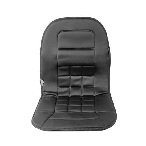 heated desk chair cover wagan in9738 black 12 volt heated seat cushion air intake
