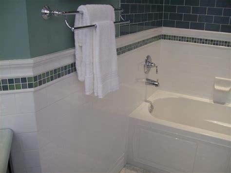 accent bathroom tile blue glass tile accent bathroom subway ceramic tile