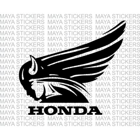 Sticker Honda Logo by Unique Sticker For Honda Activa Honda Dio Other Honda