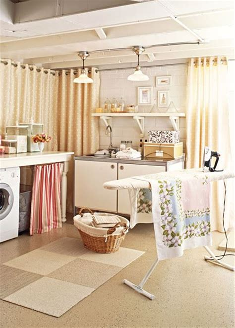 unfinished basement laundry room do it yourself design