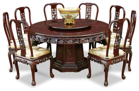 rosewood queen ann grape motif  dining table