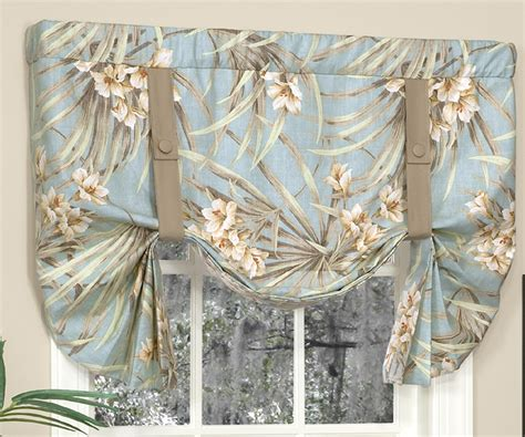Tie Up Valances Tie Up Valances Solid Colored Patterned Prints