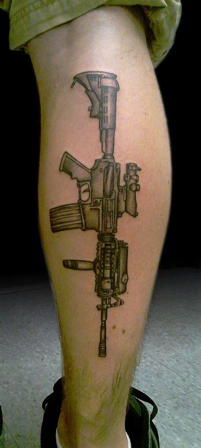 big guns tattoo gun tattoos designs ideas and meaning tattoos for you