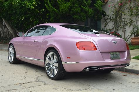 pink bentley convertible unique pink 2012 bentley continental gt