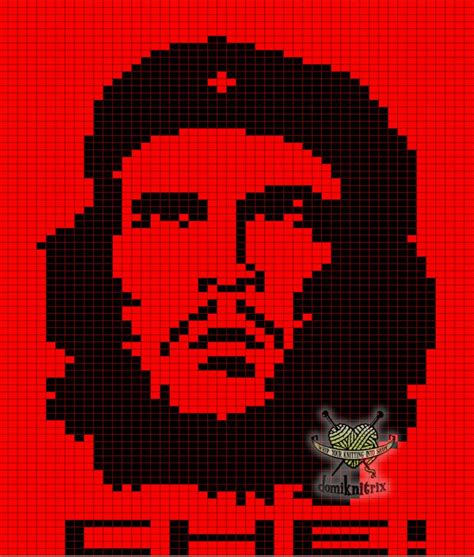 Che Guevara Pixel 81 best images about hama portraits on