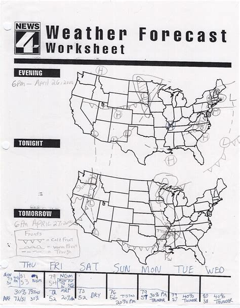 Interpreting A Weather Map Worksheets by 28 Worksheets On Weather Maps Weather Map Symbols Worksheet 15 Best Images Of Types Of