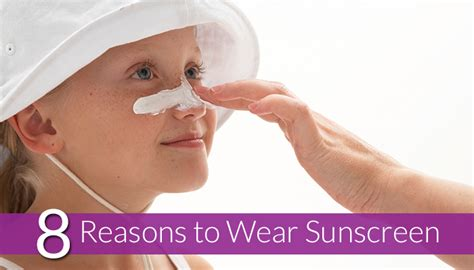 Sunscreen The Neccessity Of Summer by 8 Reasons To Wear Sunscreen This Summer Infographic