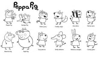 Excellent Peppa Pig Coloring Pages With On  sketch template