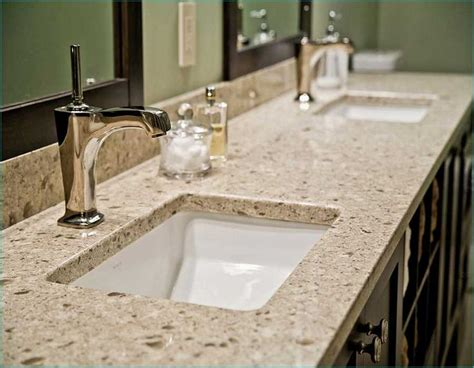quartz sinks pros and cons best 25 quartz bathroom countertops ideas on