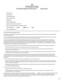 46 employee evaluation forms performance review exles
