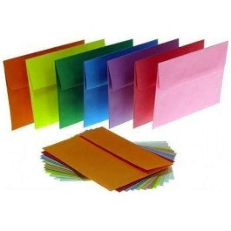 colored envelopes ebay