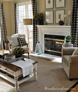 Plaid Curtains For Living Room Best 25 Buffalo Check Curtains Ideas On Cozy Family Rooms Check Curtains And