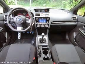 Subaru Sti Interior 2017 Subaru Wrx And Sti Interior Photo Research Page
