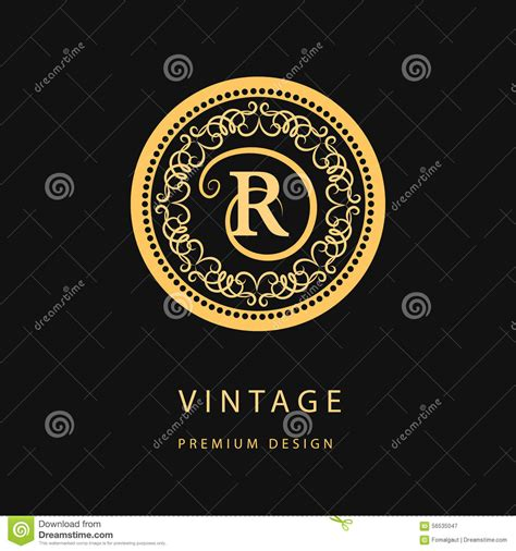 Monogram Design Elements, Graceful Template. Calligraphic ... W Hotel Logo Vector