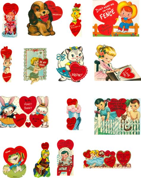 printable vintage valentines 8 best images of free vintage printables free