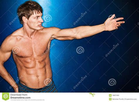 muscular man 31401 muscular man stock photo image 18821960