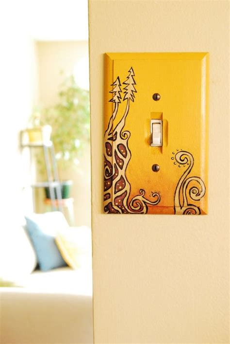 painted light switch covers 20 creative ways to decorate your light switches