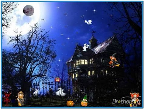 free animated halloween wallpapers for windows 7 animated halloween screensavers windows 7 download free