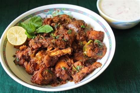 Main Dish Chicken Recipes - onion chicken fry onion chicken dry masala yummy tummy