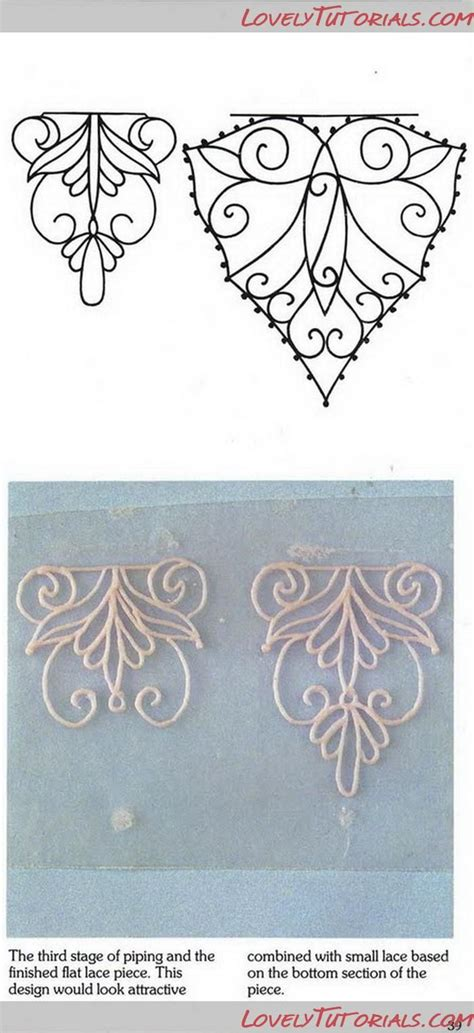 icing templates royal icing filigree templates 16 royal icing