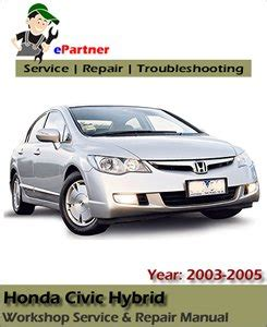 auto repair manual online 2003 honda civic si regenerative braking 2003 honda civic owners manual for free
