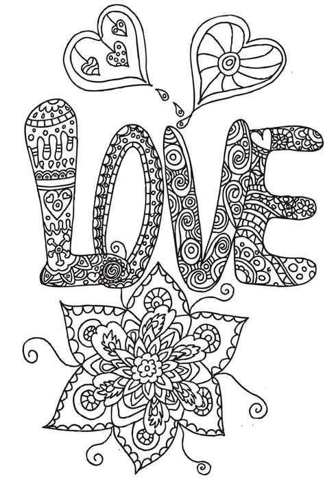 heart doodle coloring page heart flower heart abstract doodle zentangle zendoodle