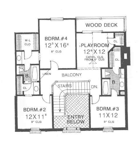 abraham georgian style home plan 036d 0192 house plans