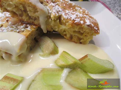 kuchen schnell gebacken ohne zucker und butter low carb rhabarber kuchen leicht