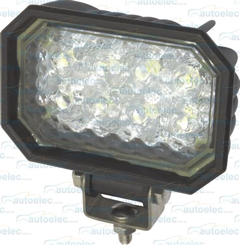 1200 lumen led flood light brytec 8 led black led flood work light lamp tray 1200
