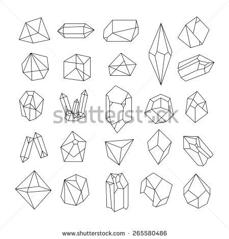 crystallography an outline of the geometrical properties of crystals classic reprint books set geometric crystals geometric shapes trendy stock