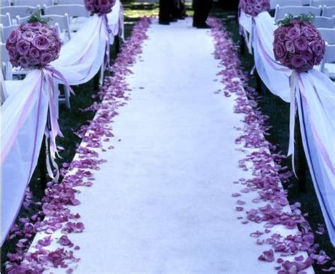 Wedding Aisle Runner Ideas by Aisle Runner Etiquette