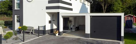 garage mit carport carport magic die wandelbare offene garage garagen welt