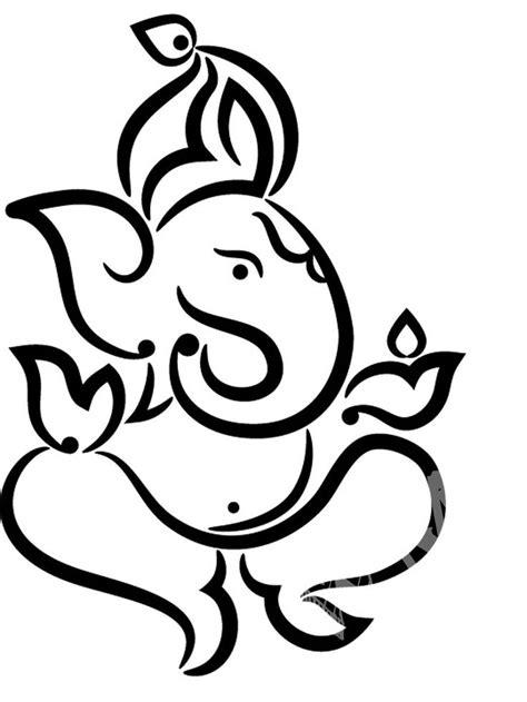ganesha tattoo prints view larger image symbol de ganesh pinterest
