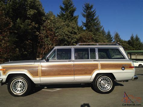 lowered jeep wagoneer 1988 jeep grand wagoneer one family owned low