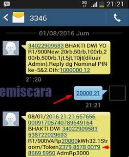 contoh format sms banking bni ke bca cara membeli token listrik via sms banking bni emiscara com