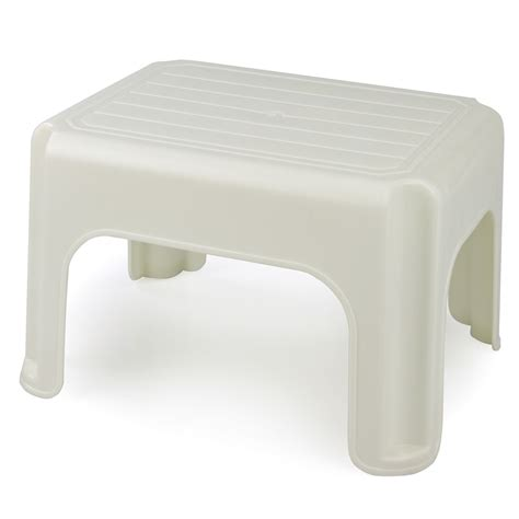 schemel plastik whitefurze plastic step stool