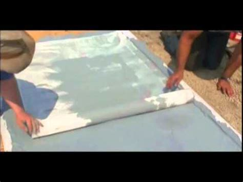how to waterproof a plywood roof deck