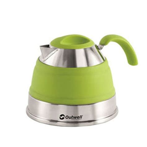 Green L Uk by Outwell Collaps Kettle 1 5l Lime Green Cing Supplies