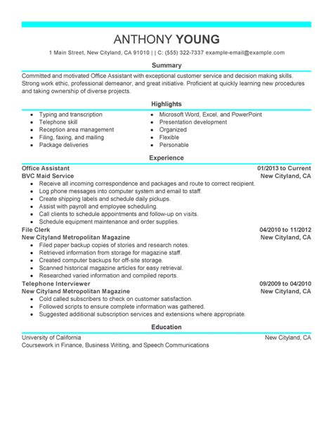 resume templates administrative assistant resume template microsoft