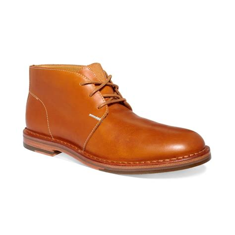 cole haan s boots cole haan glenn chukka boots in brown for camello