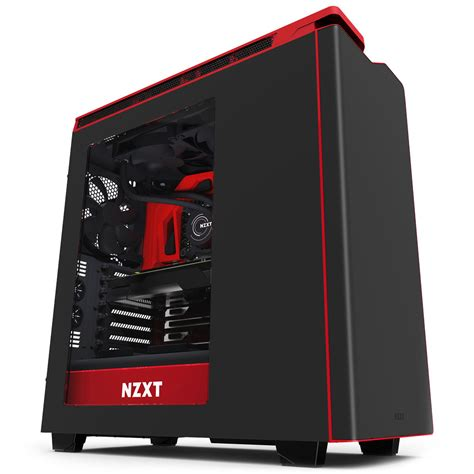 Nzxt H440 buy black nzxt h440 performance gaming at evetech co za